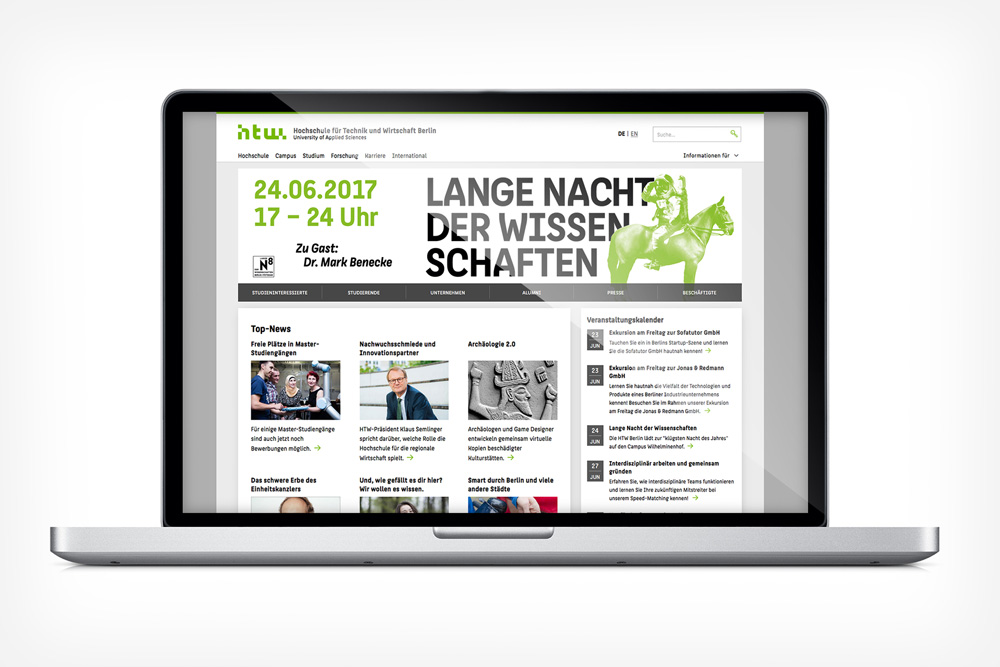 Key Visual for Lange Nacht der Wissenschaften 2017 Berlin by Dennis Meier-Schindler