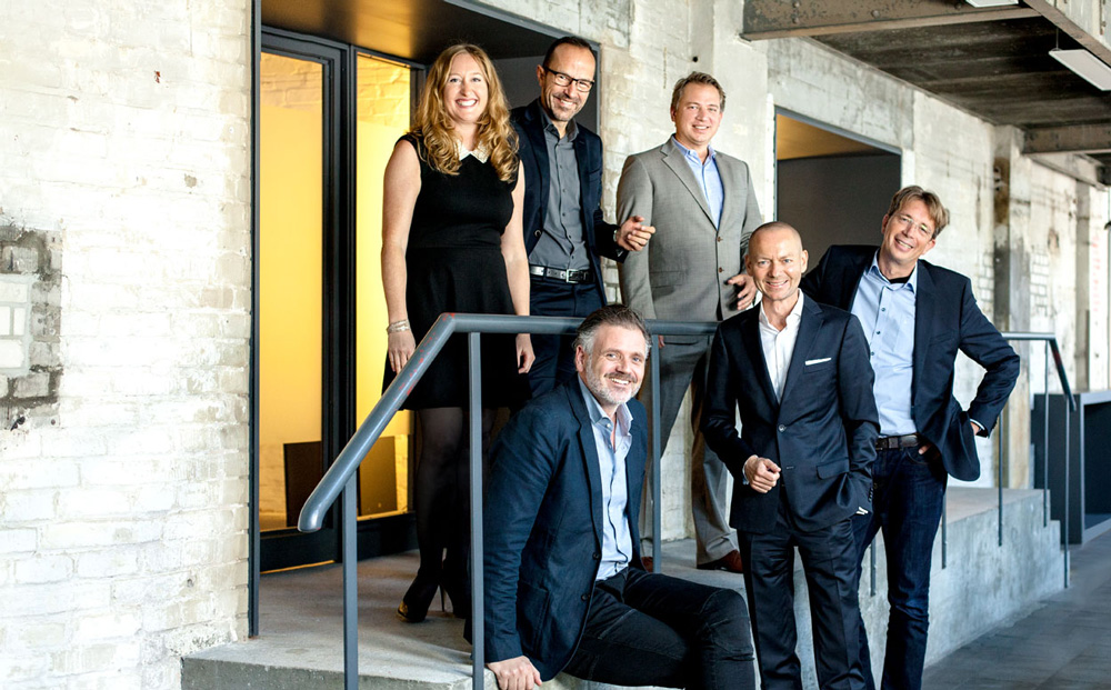 Portrait Management board of MetaDesign