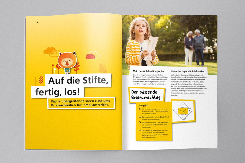 Post und Schule / Deutsche Post / MetaDesign / Dennis Meier-Schindler