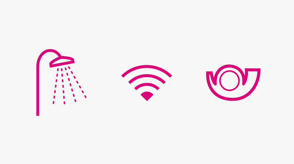 Telekom Pictogramm / MetaDesign / Dennis Meier-Schindler